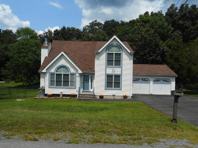 East Stroudsburg Single Family Home For Sale: 27 Huckleberry Dr