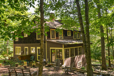 Buck Hill Falls Single Family Home For Sale: 2156 Laurel Ln