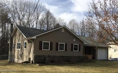 Pocono Pines Single Family Home For Sale: 3134 Hemlock Hill Rd