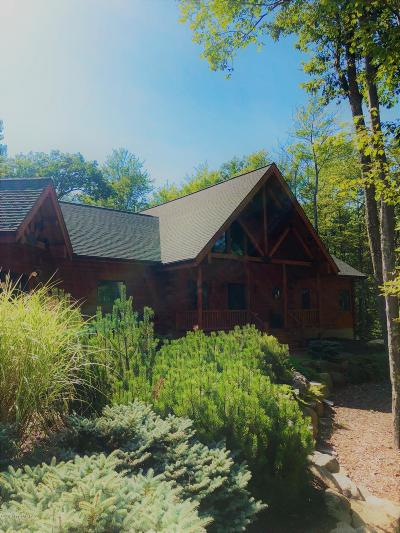 Lake Harmony Single Family Home For Sale: 360 Wolf Hollow Rd