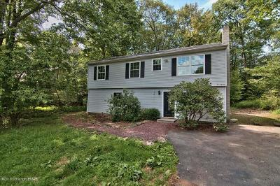 Tobyhanna Single Family Home For Sale: 6124 Cumberland Rd