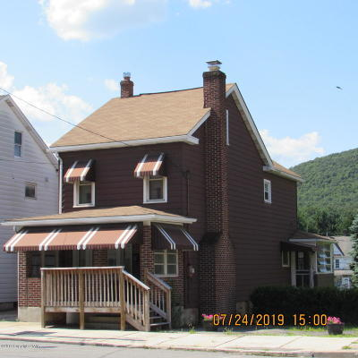 Nesquehoning PA Single Family Home For Sale: $59,900