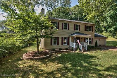 East Stroudsburg Single Family Home For Sale: 5519 Franklin Hill Rd