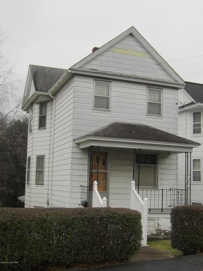 Dickson City PA Single Family Home For Sale: $45,000