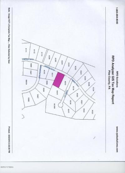Conashaugh Lakes Residential Lots & Land For Sale: Lot-6012 Oneida Way