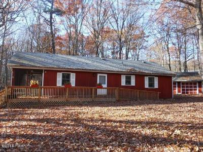 Lords Valley PA Single Family Home Sold: $89,000