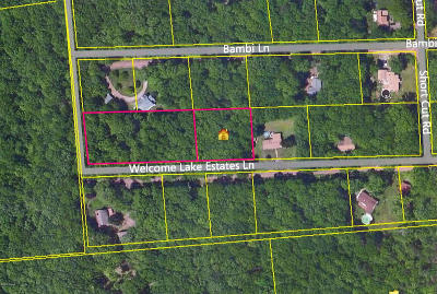 Residential Lots & Land For Sale: 69, 70 & 71 Welcome Lake Estates Ln