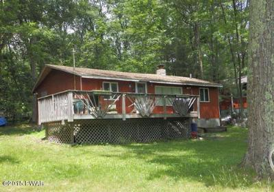 Dingmans Ferry PA Single Family Home For Sale: $59,900
