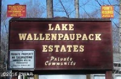 Lake Wallenpaupack Estate Residential Lots & Land For Sale: 19B Walleye Lane