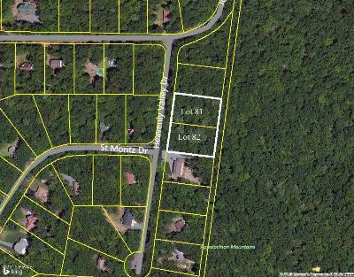 Tanglwood North Residential Lots & Land For Sale: 81 & 82 Heavenly Valley Dr