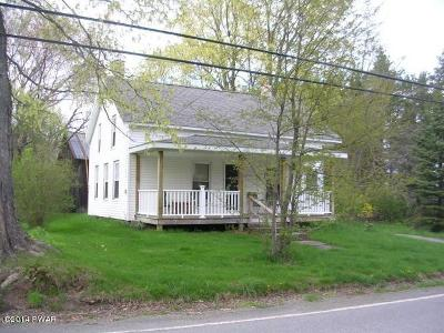 Pleasant Mount PA Single Family Home For Sale: $75,000