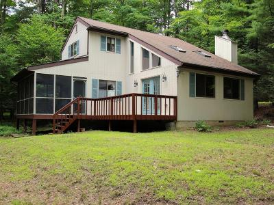 Lake Wallenpaupack Estate Single Family Home For Sale: 106 Clubhouse Dr