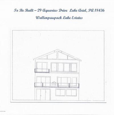 Lake Ariel Single Family Home For Sale: 29 Aquarius Dr