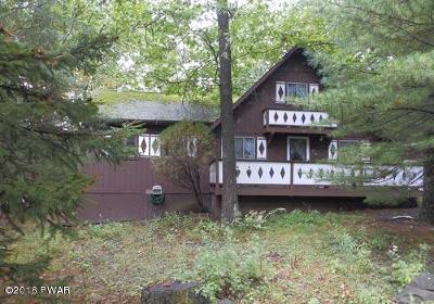 Dingmans Ferry PA Single Family Home For Sale: $149,900