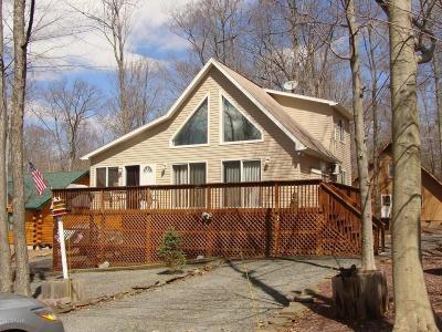 Lake Ariel Single Family Home For Sale: 1008 Lotus Ter