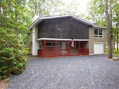 Lords Valley PA Single Family Home For Sale: $142,500