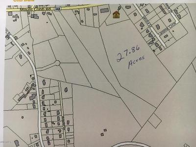 Residential Lots & Land For Sale: Behind 1386 Mt. Cobb Road