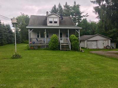 Lake Ariel PA Single Family Home For Sale: $129,000
