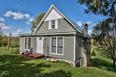 Honesdale Single Family Home For Sale: 58 Williams Valley Dr