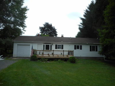 Milford Single Family Home For Sale: 127 Fire Tower Rd
