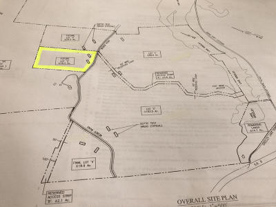 Greeley Residential Lots & Land For Sale: Lot U Greeley Lake Rd