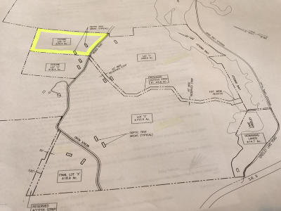 Greeley Residential Lots & Land For Sale: Lot V Greeley Lake Rd