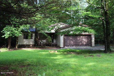 Newfoundland Single Family Home For Sale: 1050 Beaver Run Rd