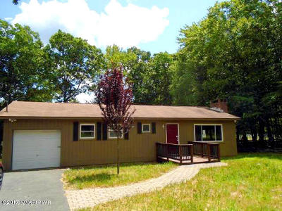 Dingmans Ferry PA Single Family Home For Sale: $69,900
