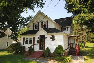 Honesdale Single Family Home For Sale: 328 Cliff St