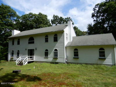 Hawley Single Family Home For Sale: 110 Lens Rd