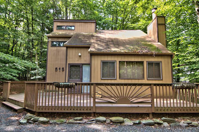 Lake Ariel Single Family Home For Sale: 515 Lakeview Drive West