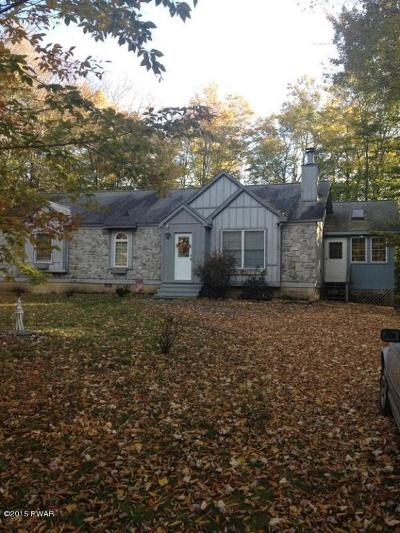 Greentown PA Single Family Home For Sale: $144,900