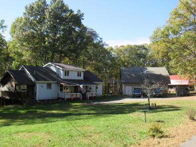 Hawley Single Family Home For Sale: 141 Blue Eddy Rd
