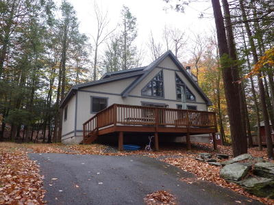 Wallenpaupack Lake Estates Single Family Home For Sale: 1064 Rainbow Dr