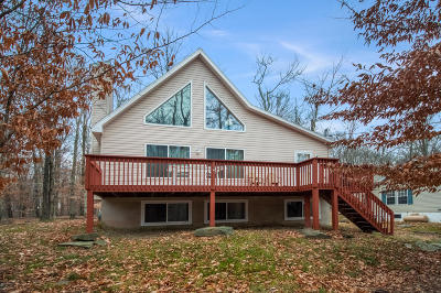 Wallenpaupack Lake Estates Single Family Home For Sale: 1067 Deer Valley Rd