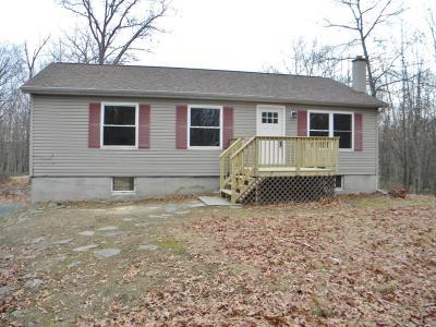 Hawley Single Family Home For Sale: 34 Deer Run