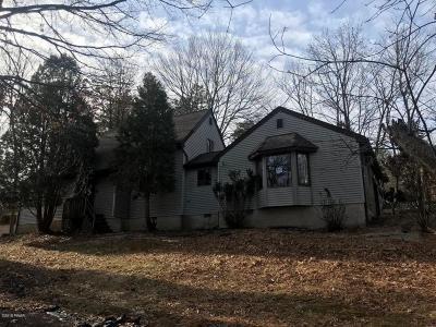 Bushkill PA Single Family Home For Sale: $79,000