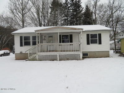 Honesdale Single Family Home For Sale: 11 Wood St