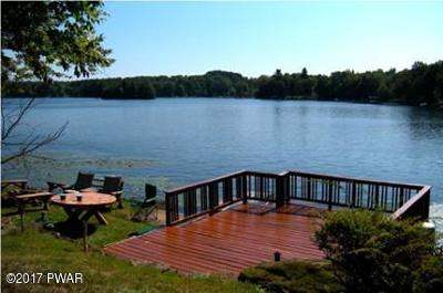 Lake Ariel Single Family Home For Sale: 288 W Shore Dr