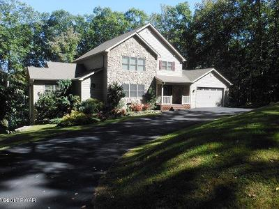 Lords Valley Single Family Home For Sale: 813 Blackbirch Ct