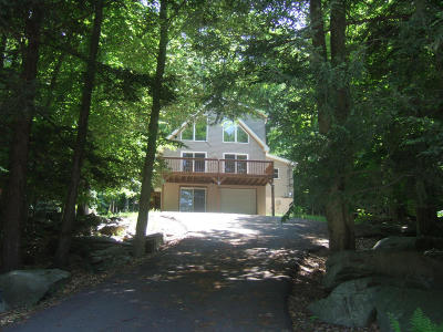 Wallenpaupack Lake Estates Single Family Home For Sale: 1153 Beaver Lake Dr