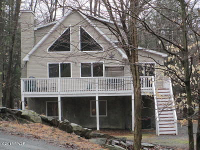 Wallenpaupack Lake Estates Single Family Home For Sale: 1010 Mustang Rd