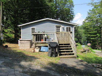 Greentown PA Single Family Home For Sale: $81,500