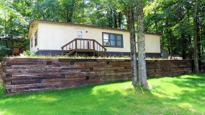 Greentown PA Single Family Home For Sale: $65,000