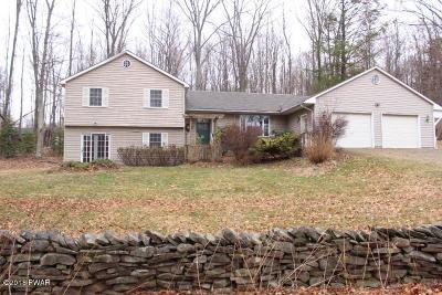 Lake Ariel Single Family Home For Sale: 2174 Lake Ariel Hwy