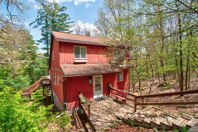 Hawley Single Family Home For Sale: 76 Covered Bridge Dr