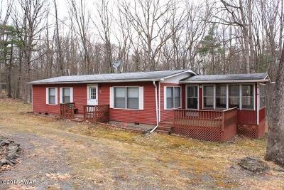 Hawley Single Family Home For Sale: 107 Blueberry Ln
