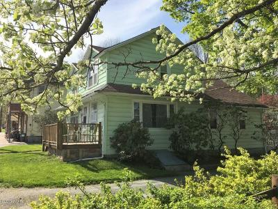 Waymart Single Family Home For Sale: 153 South St