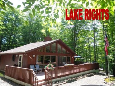 Wallenpaupack Lake Estates, Lake Wallenpaupack Estate Single Family Home For Sale: 1063 Boathouse Rd