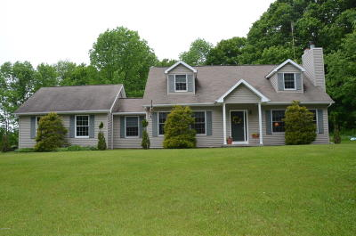 Pleasant Mount Single Family Home For Sale: 121 Daw Rd